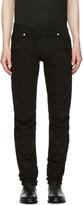 Pierre Balmain Black Panelled Jeans