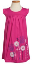 Tea Collection Girl's Flower Graphic Dress