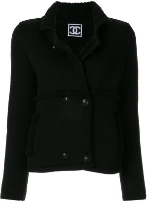 Chanel Pre-Owned Sports Line textured double breasted jacket