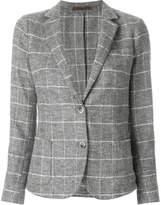 Eleventy check blazer
