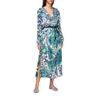 Twin-Set Long Patterned Dress