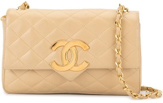 Chanel Pre-Owned quilted CC logo shoulder bag