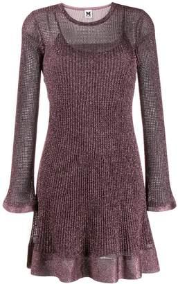 M Missoni short knitted dress