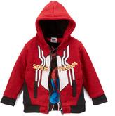 Children's Apparel Network Spider-Man Red Hoodie & Black Long-Sleeve Tee - Toddler & Boys