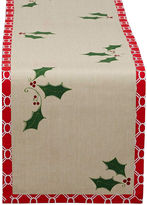 Avanti Holly Jolly Printed Cotton Table Runner