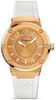 Salvatore Ferragamo F-80 Gold IP Stainless Steel Watch, 33mm