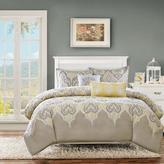 Madison Park Nisha Yellow Comforter Set - Full/Queen