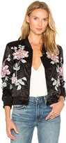 3x1 Floral Embroidered Jacket in Black. - size XS (also in )