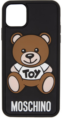 Moschino Black Toy Bear iPhone 11 Pro Max Case