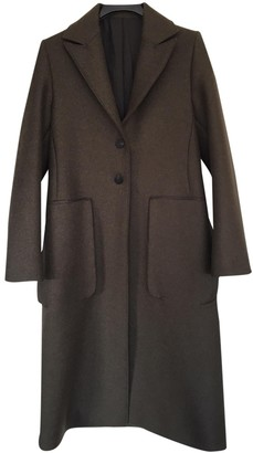 Studio Nicholson Green Wool Coats