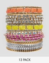 Liars & Lovers Mix Bead Stacking Bangles
