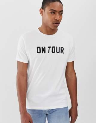 Brave Soul on tour t-shirt-White