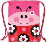 Stephen Joseph Ladybug Drawstring Bag