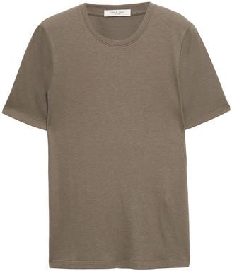 Rag & Bone The Rib Slim Cotton And Modal-blend Jersey T-shirt
