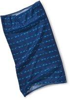 Lassig Twister Sweat Wicking Multi Use Scarf Hairband and Headband, Dino Blue