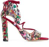 Paula Cademartori 'Lotus' sandals - women - Leather - 36