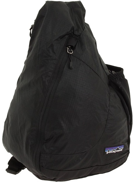 Patagonia Lightweight Travel Sling (Black) - Bags and Luggage