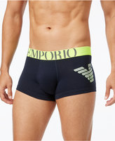 Emporio Armani Men's Athletic Eagle Trunks
