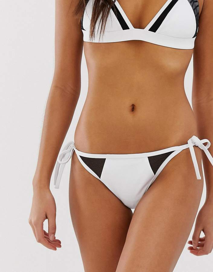 384c8bd4822 Calvin Klein White Two Piece Swimsuits For Women - ShopStyle UK