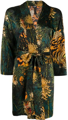 DSQUARED2 Tiger Print Kimono