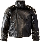 eve jnr Studded Leather Jacket (Little Kids/Big Kids)