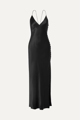 CAMI NYC The Lillian Silk-charmeuse Maxi Dress - Black