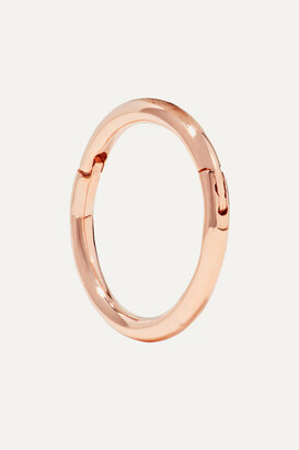 Maria Tash 8mm 14-karat Rose Gold Hoop Earring - one size