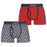 Soulcal Pattern Boxer Set Mens