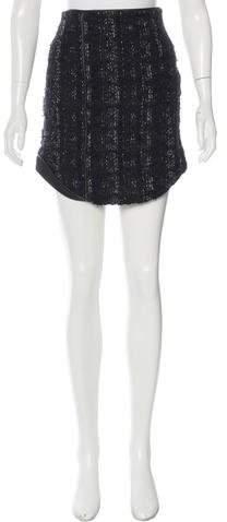 Antonio Berardi Tweed Mini Skirt w/ Tags
