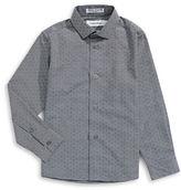 Calvin Klein Woven Pattern Shirt
