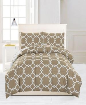 Kensie Greyson Down Alternative Reversible Full/Queen Comforter Set Bedding