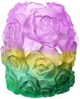 Daum Rose Passion Candleholder