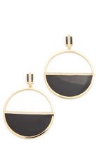 Noir Honey Earrings