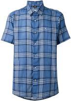 Raf Simons checked shortsleeved shirt