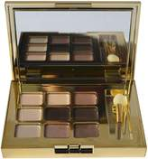 Estee Lauder Deluxe Gold Compact with 9 Eyeshadow shades by
