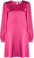 Semi-Couture Semicouture long-sleeved mini dress