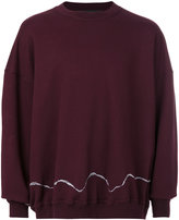 Haider Ackermann round neck sweatshirt