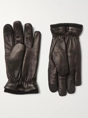 Hestra John Touchscreen Primaloft Leather Gloves