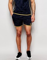 Kappa Retro Shorts With Taping