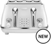 De'Longhi DeLonghi Elements Toaster - White