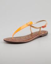 Sam Edelman Gigi Neon Sandal, Orange