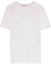 Christopher Kane Embellished Jersey T-Shirt