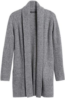 Banana Republic Petite Merino-Blend Long Cardigan Sweater