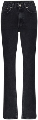 Sunflower High-Waist Straight-Leg Jeans