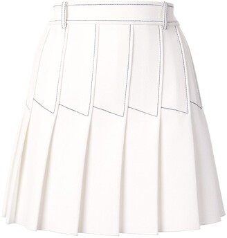 Dion Lee Column Pleat Mini skirt