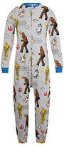 Star Wars Children's All-Over Print Onesie, Grey