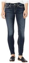Silver Jeans Co. Suki Mid-Rise Curvy Fit Skinny Jeans L93136SDG458 (Indigo) Women's Jeans