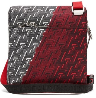 Christian Louboutin Benech Reporter Canvas Cross-body Bag - Mens - Multi