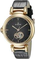 Edox Women's 85025 37RC NIR LaPassion Analog Display Swiss Automatic Watch