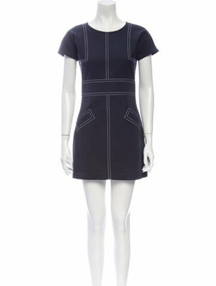Chanel 2009 Mini Dress Blue